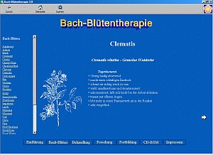 Freeware Bachblütentherapie
